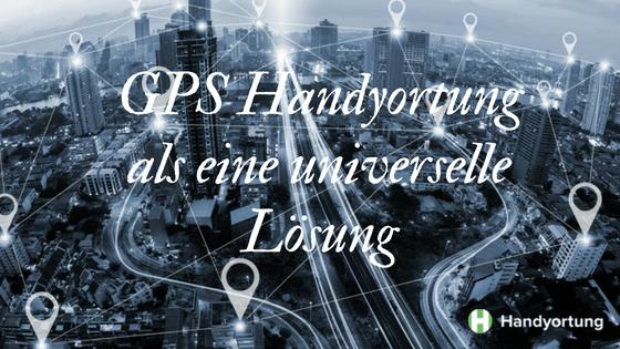 GPS-Handyortung