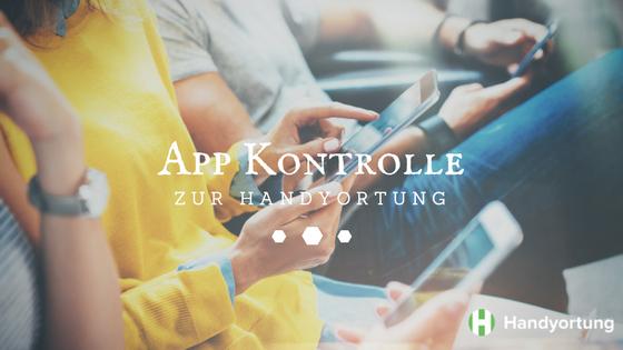 App Kontrolle zur Handynutzung